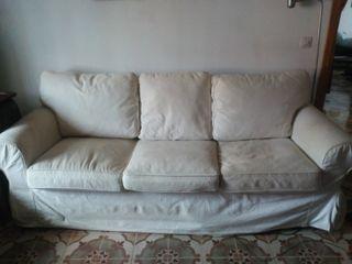 Sofa de 3 plazas EKTORP(IKEA).