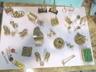 Coleccion Figuras metalicas