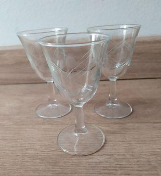12 Copas cristal de Jerez