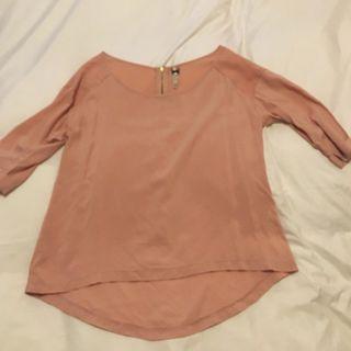 Camisa Blusa Mujer Rosa Talla 42 XL