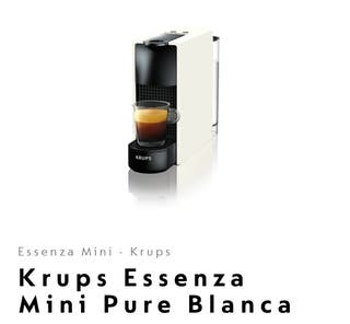 Nespresso Krups Essenza + cápsula acero y tamper