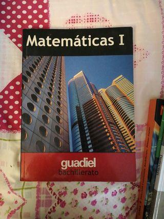 libro matemáticas, Bachillerato