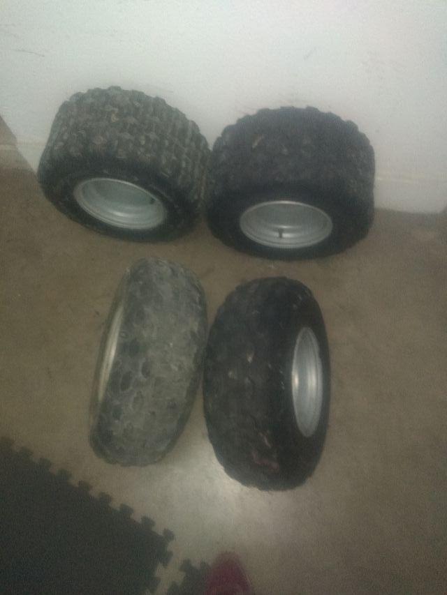4 lote rueda quad