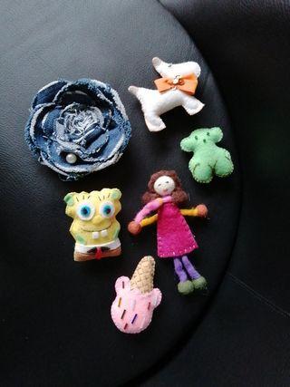 accesorios para ropa o bolsos