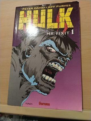 Diversos comics de Hulk