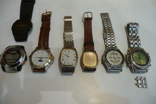 relojes pulsera quarzo antiguos, 1980-1995