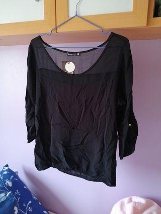 blusa negra M - Shana