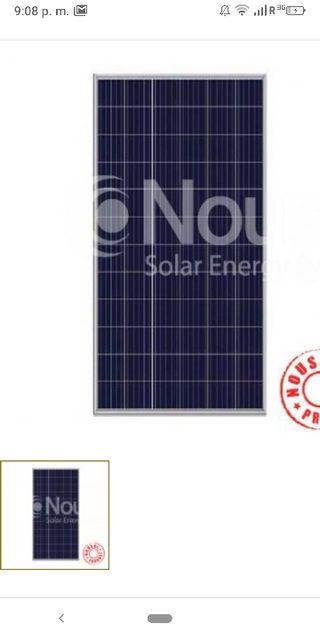 placa solar nueva