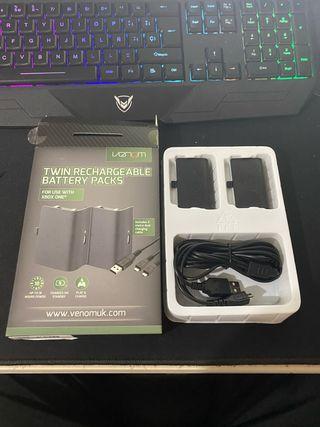 Mando Xbox inalambrico con adaptador para PC