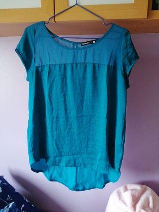 Blusa turquesa L-Shana