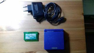 Game Boy Advance sp + Pokemon Esmeralda