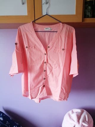 Camisa rosa S-Okeysi