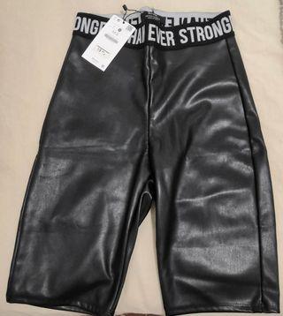 short piel, pantalón ciclista