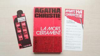 Libro La mort, certament. Agatha Christie.