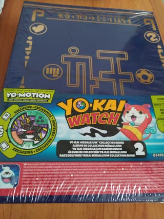 Álbum precintado tazos Yokai Watch