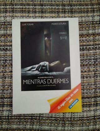 Pelicula dvd a estrenar Mientras Duermes
