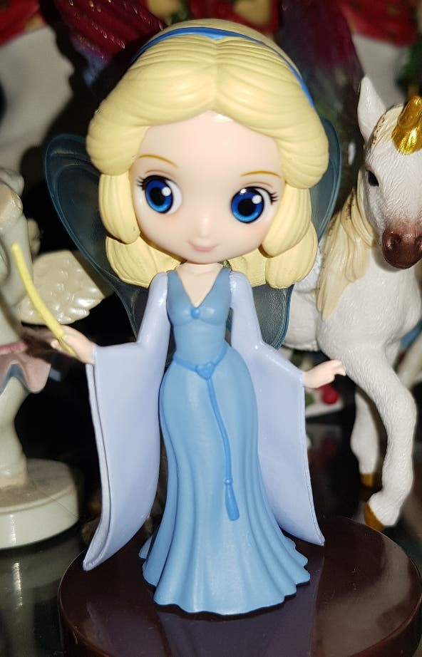 Qposket Disney mini Hada Azul