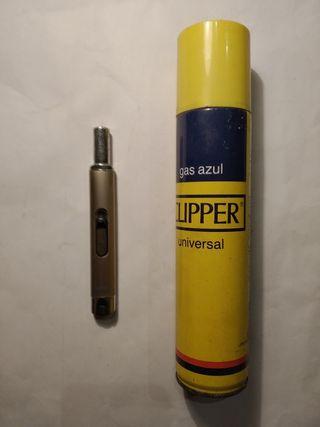 Encendedor de llama VALIRA de gas recargable