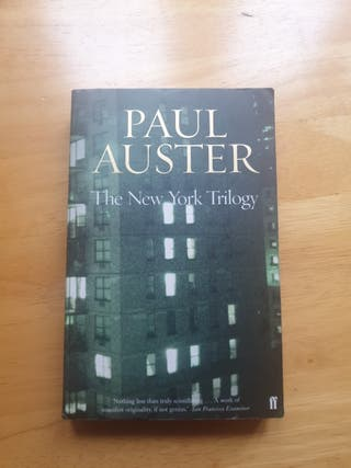 the new york trilogy (Paul Auster)