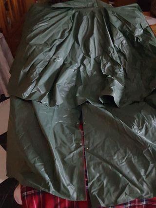 capa impermeable caballo