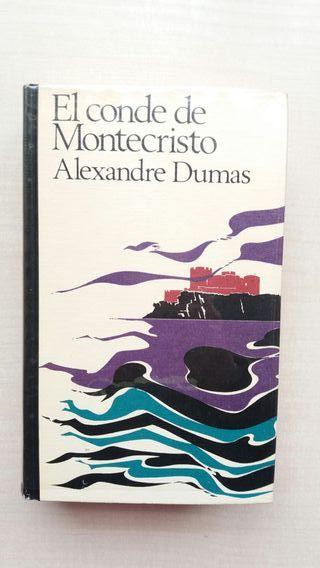 Libro El conde de Montecristo. Alexandre Dumas.