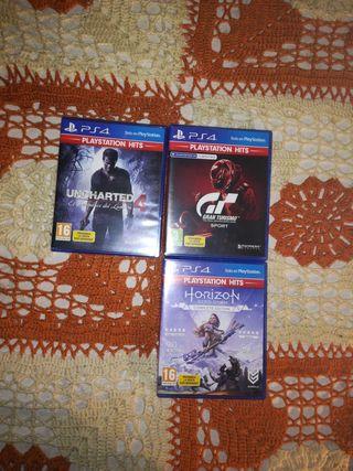 3 juegos