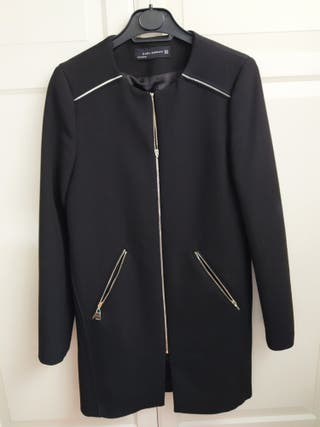 abrigo zara mujer talla XS