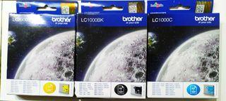 Cartuchos de tinta Brother LC1000