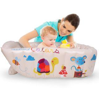 bañera hinchable bebé