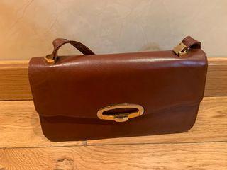 Bolso de mano marrón mujer