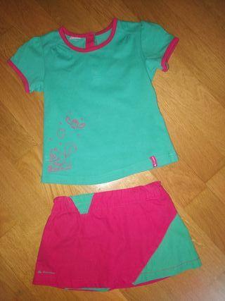 Ropa Decathlon niña 24 meses