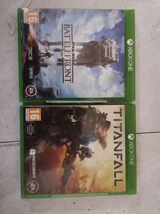 battlefront y titanfal xone