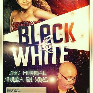 dúo músical black and white
