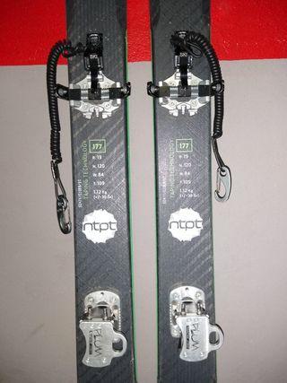 Esquís de montaña