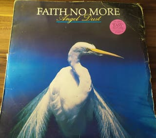 Vinilo Faith no more - Ángel dust (roto)