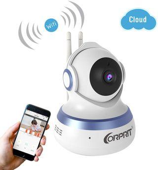 Camara IP Vigilancia Wifi Doble Antena Android iOS