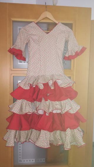 vestido de flamenca talla 6