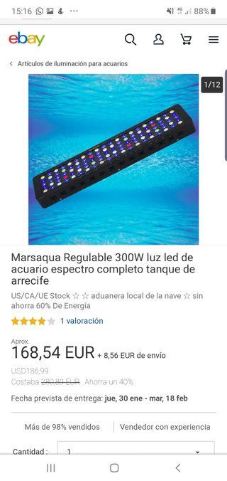PANTALLAS MARS AQUA 300W MANUALES