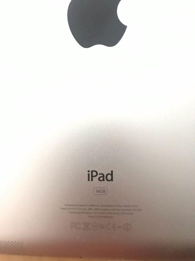 iPad 2a Generación Blanco 16 Gb WIFI