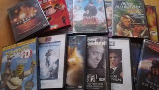películas en DVD.
