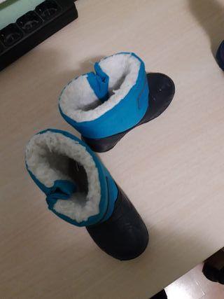 botas nieve niñ@
