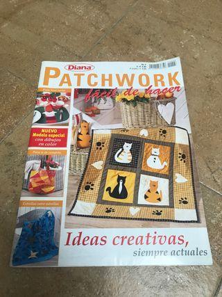 Revistas patchwork aplicacion costura