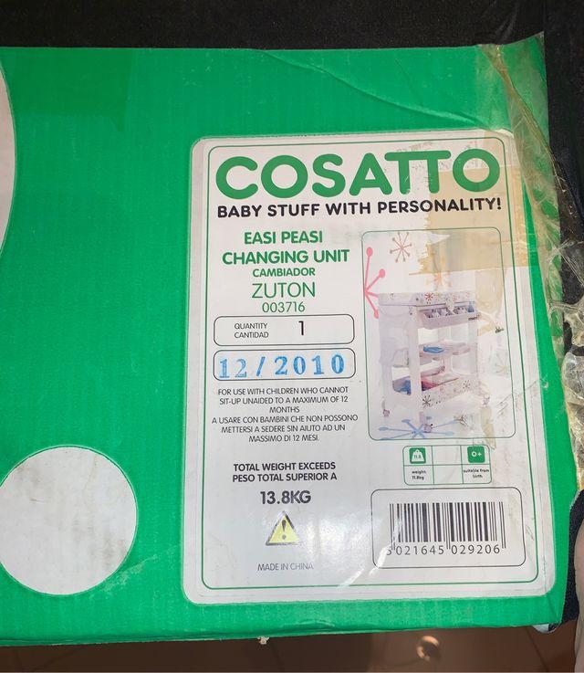Bañera de bebé Cosatto