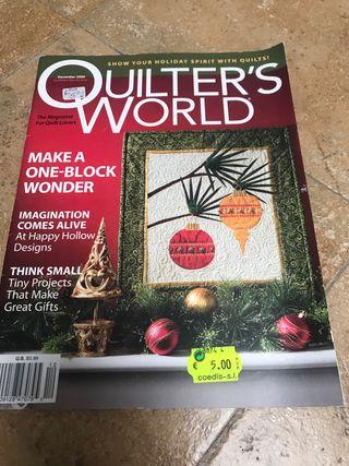 Revistas patchwork aplicaciones costuras