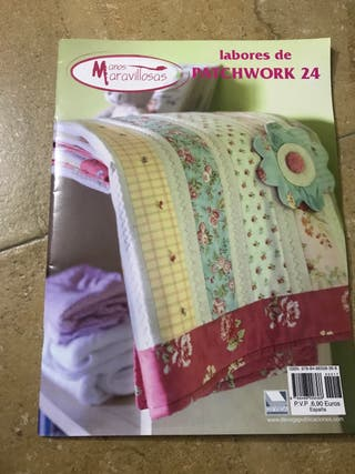 Revistas de manos maravillosas de patchwork