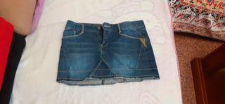 Mini falda vintage