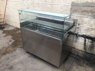 Mostrador frigorífico nevera 1 metro