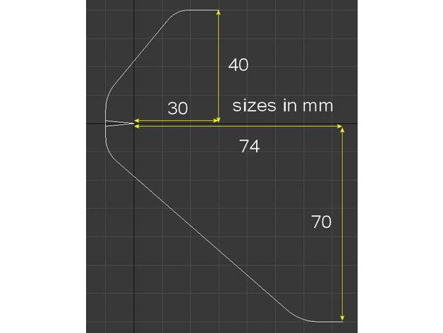 2 Piezas Trackir 3D