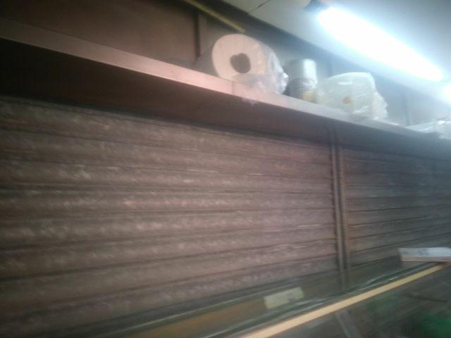 estanteria totalmente de acero de 4.5m×0.50 de alt