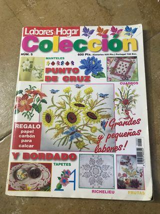 Revistas patchwork costura punto aplicaciones